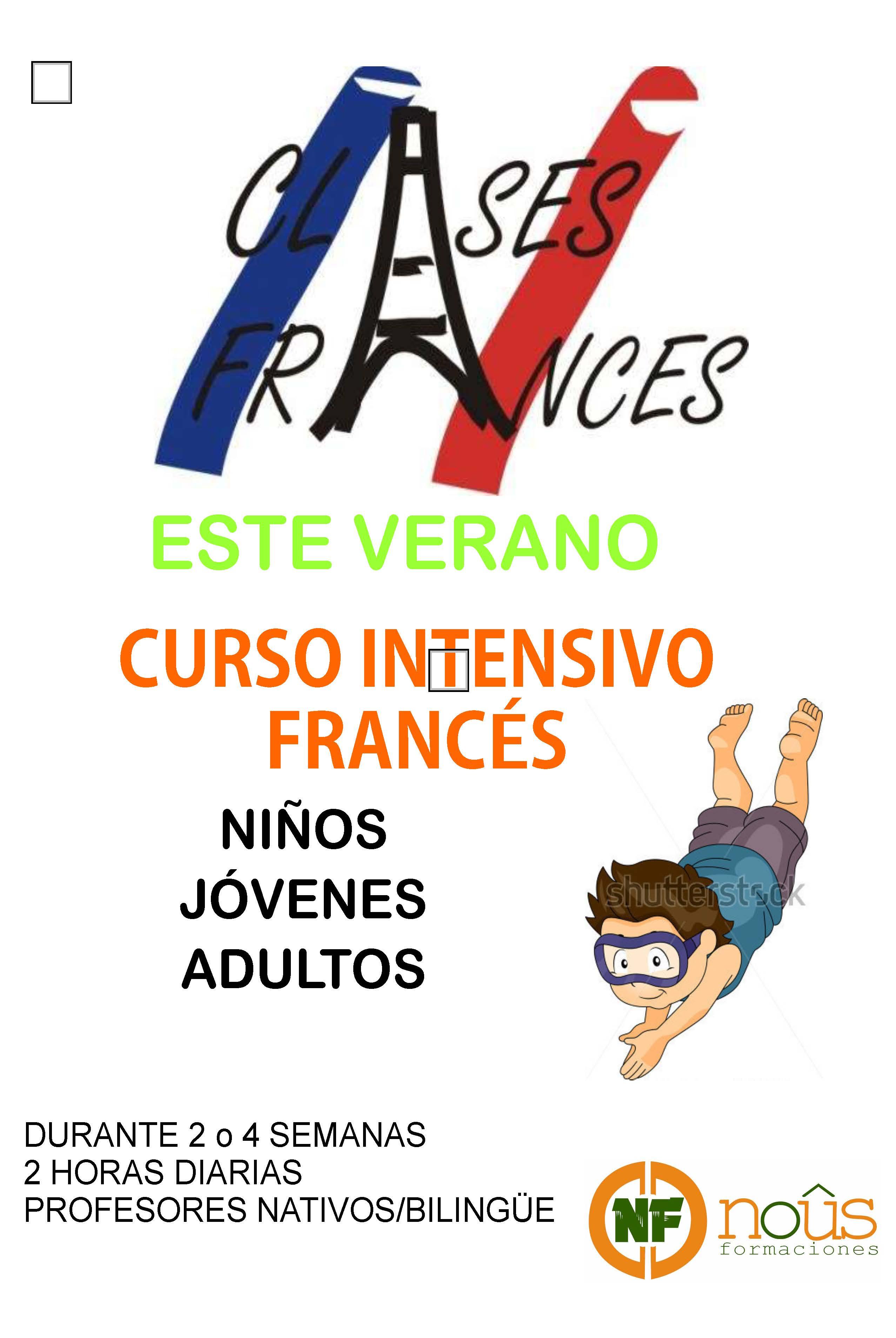 CURSO INTENSIVO INGLÉS y francés